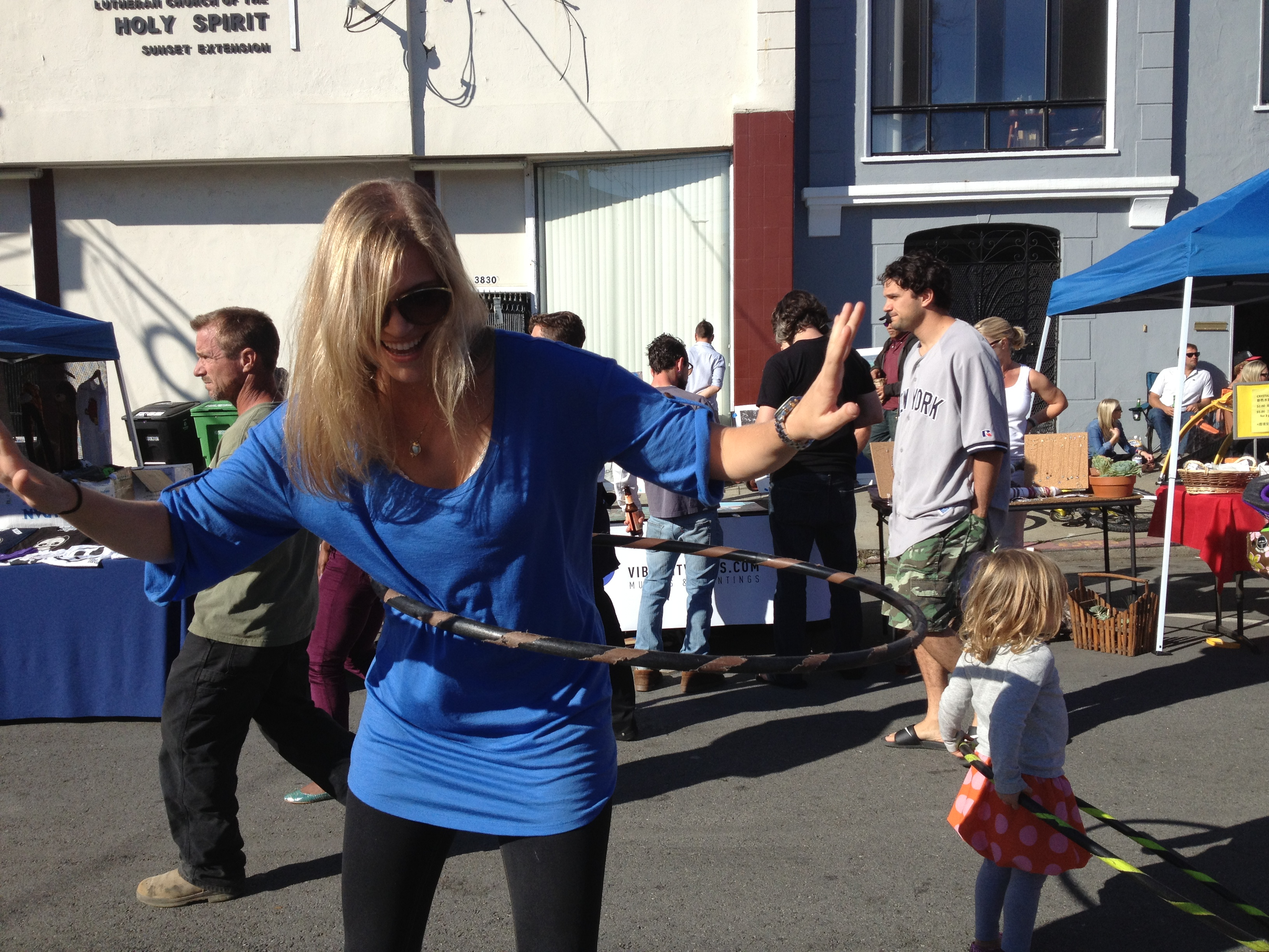 Hula Hooping for Stress Reduction and Pain Relief